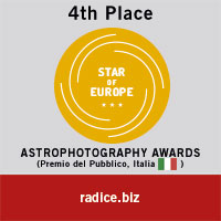 STAR OF EUROPE ASTROPHOTOGRAPHY AWARDS 2015